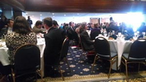 Attendees of Wednesday's luncheon.
