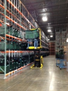 The new Majestic Auto Glass Distribution Center.