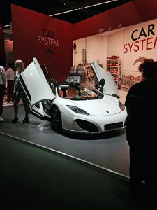 A car on display at Automechanika. (Photos' source: Equalizer)
