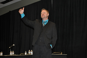 Bill Lane of the Referral Institute in Arizona addressed how to gain the right referrals the right way.