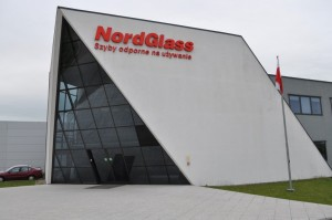 A NordGlass fabrication plant in Poland.