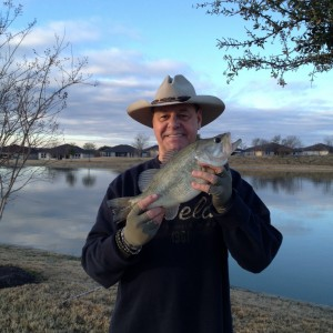 Frank Levesque says he lives to fish and plans to do a lot of it after his retirement.