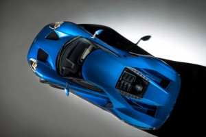 The new Ford GT.