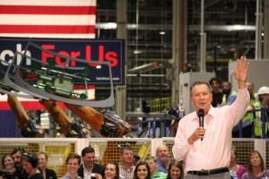 FGA hosted presidential candidate Gov. John Kasich on Friday.