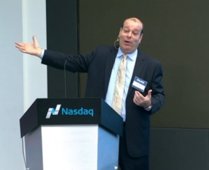Robert Wagman, LKQ CEO, speaking during his company's investor day in New York City earlier this year.