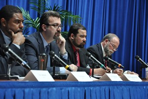 The NHTSA panel listens to stakeholder feedback April 8th regarding guidelines for deploying automated vehicle technologies.