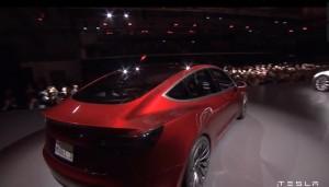 Tesla CEO Elon Musk introduced  the new Model 3 Thursday evening.