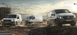 Citan, Sprinter and Vito. Source: Daimler Vans