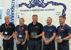 The five finalists in Auto Windscreens AGRR competition included (from left to right): Luke Allies, Paul Gilbert, Lloyd Cullen, Steve Abrahams and Andy Bird.