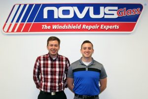 Novus' new training and development coordinators are Noah Stommel and Levi Nellen.