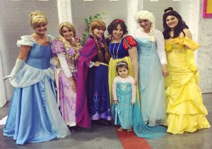 Novus Glass participated in a recent Princess Party charity event.