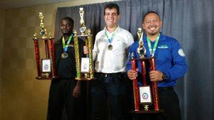 WRO winners (left to right): Desmond, Braulio, Alredo